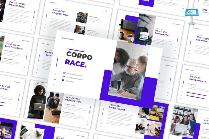 Thumbnail for Corporace - Business Keynote Template