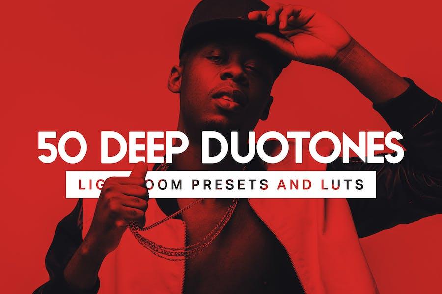 50 Deep Duotone Lightroom Presets