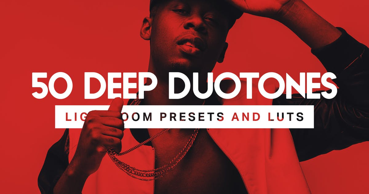 Download 50 Deep Duotone Lightroom Presets by sparklestock