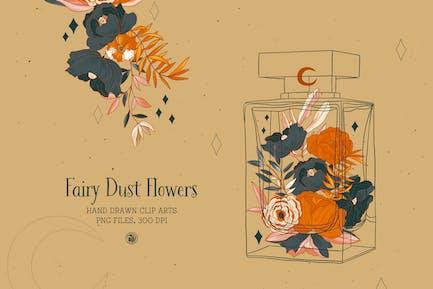 Flores de Polvo de Hadas
