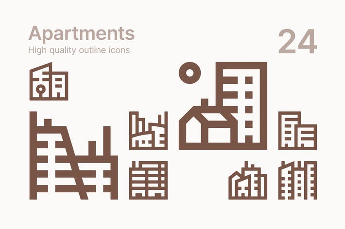Thumbnail for Apartment icons