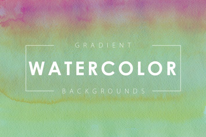 Thumbnail for 16 Watercolor Gradient Backgrounds