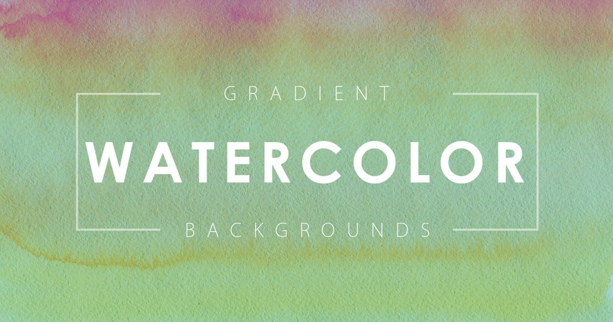 Download 16 Watercolor Gradient Backgrounds by M-e-f