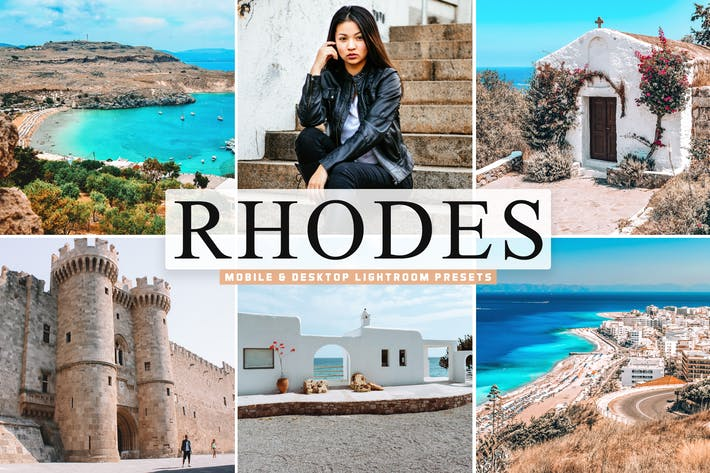 Thumbnail for Rhodes Mobile & Desktop Lightroom Presets