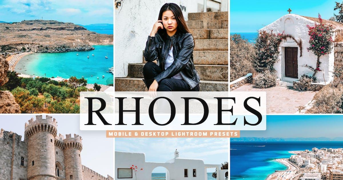 Download Rhodes Mobile & Desktop Lightroom Presets by creativetacos