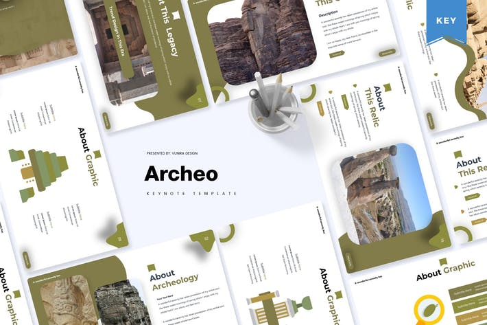 Thumbnail for Archeo   Keynote Template