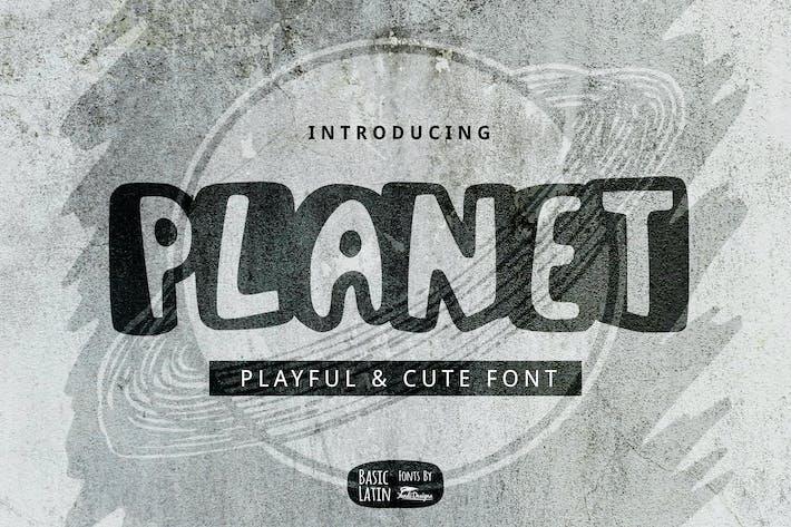 Thumbnail for Planet Font
