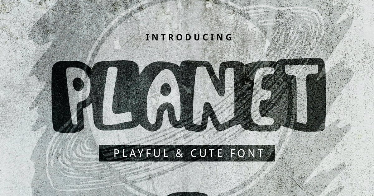 Download Planet Font by yandidesigns