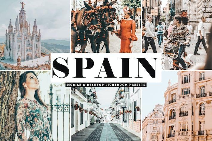 Thumbnail for Spain Mobile & Desktop Lightroom Presets