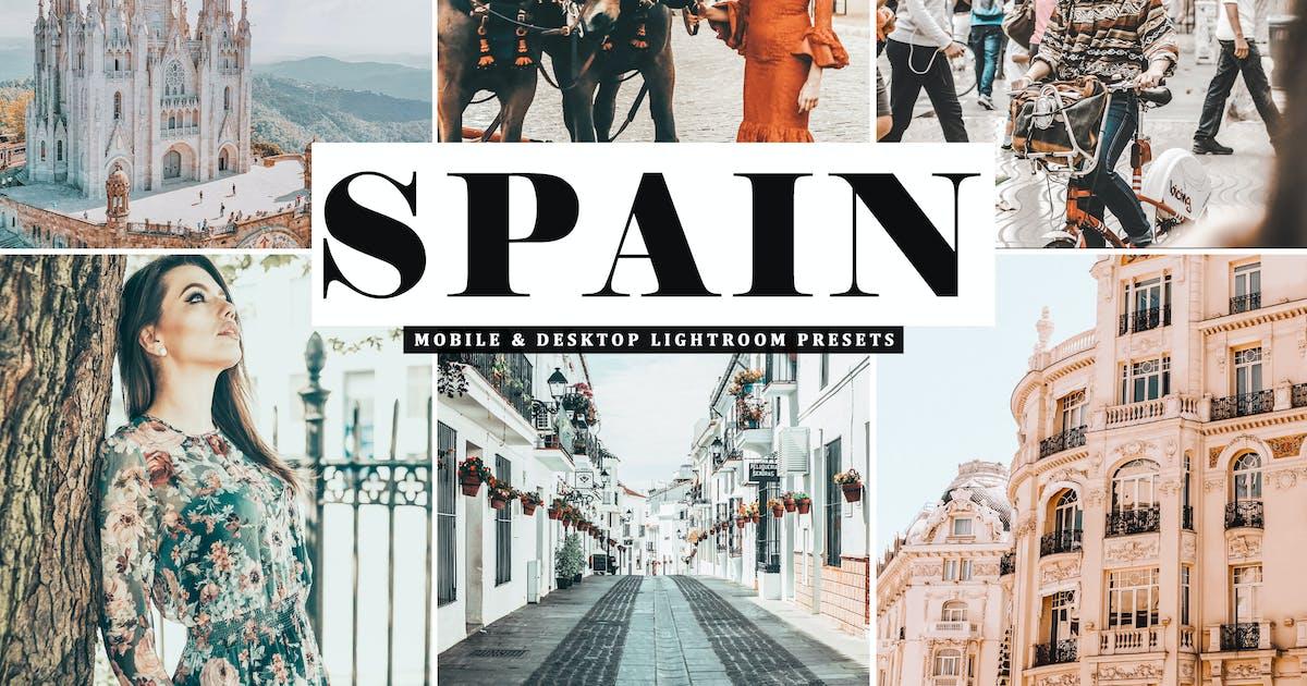 Download Spain Mobile & Desktop Lightroom Presets by creativetacos