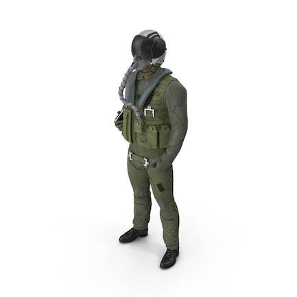 Piloto Militar de Avión a reacción de los Estados Unidos