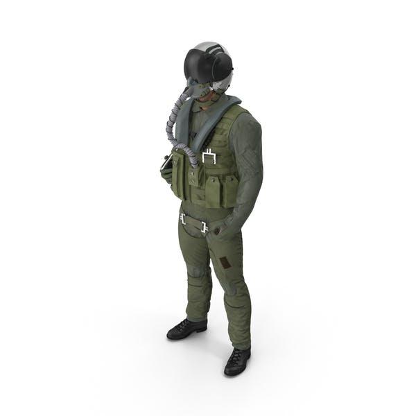 US Military Jet Fighter Pilot