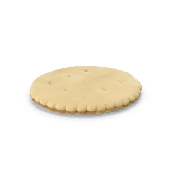 Thumbnail for White Chocolate Covered Circular Cracker