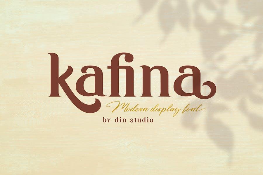 Kafina - Modern Serif Font