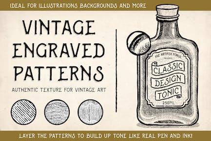 Vintage Engraved Patterns