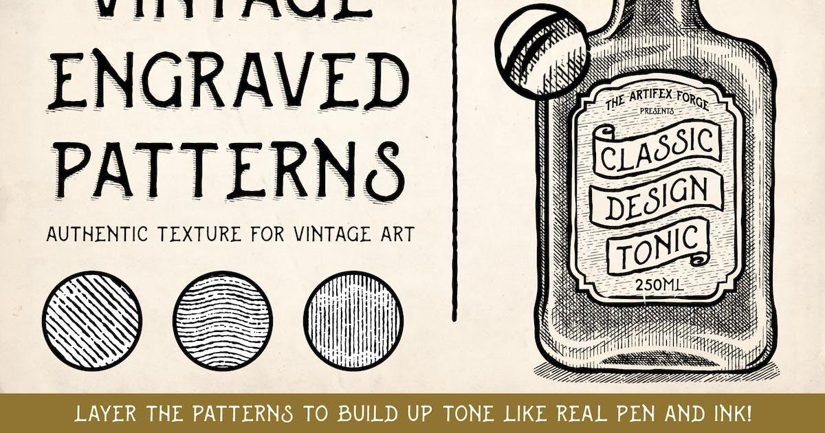 Download Vintage Engraved Patterns by JRChild