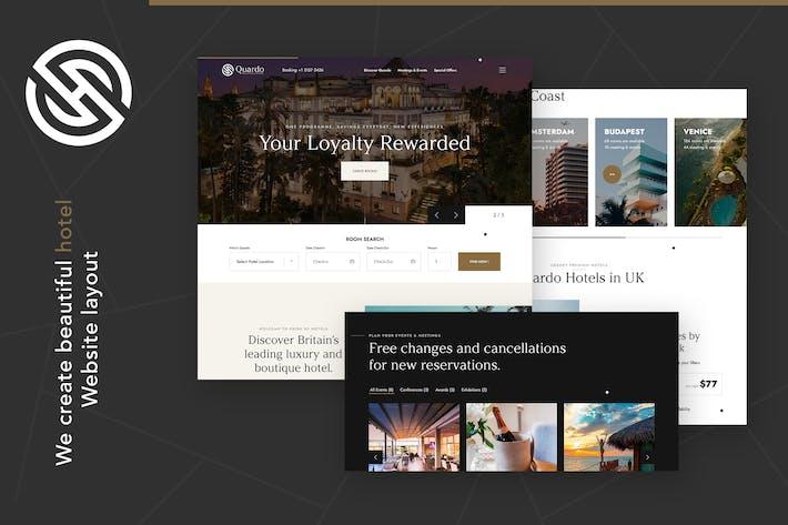 Quardo | Deluxe Premium Hotels HTML Template