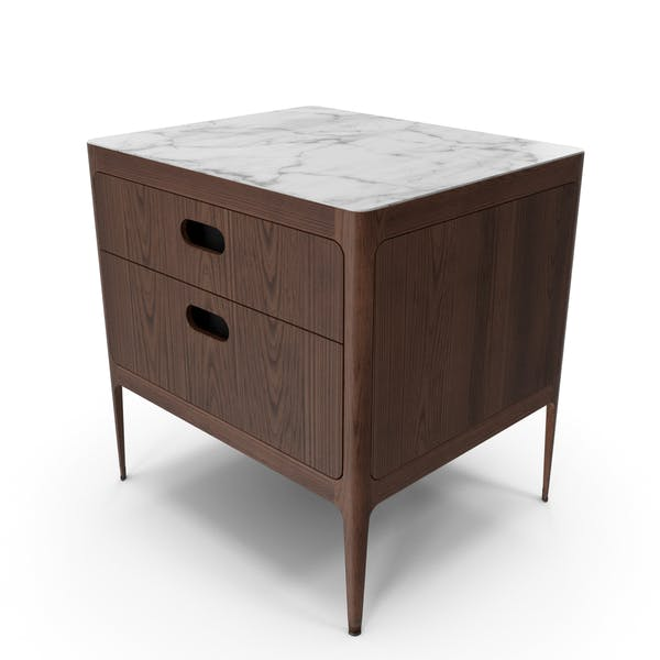 Radius Two Drawer Nightstand