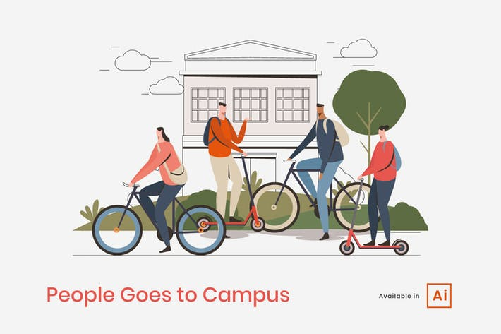 Thumbnail for People Goes to Campus