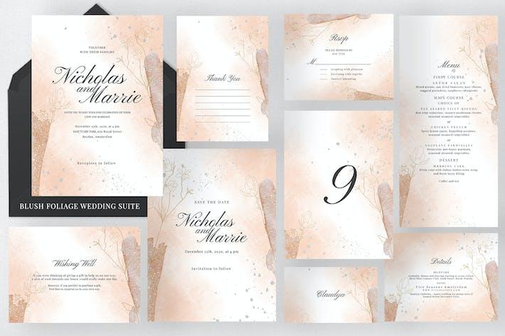 Thumbnail for Blush Foliage Wedding Suite