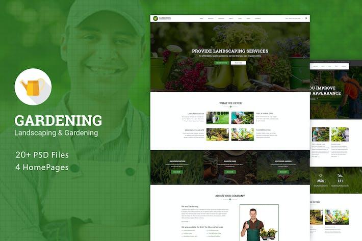 Thumbnail for Gardening - Landscaping & Gardening