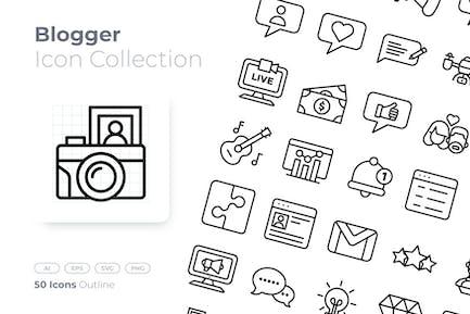 Blogger Gliederung Icon