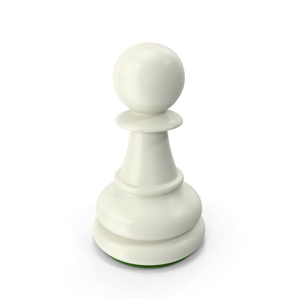Pawn White Green