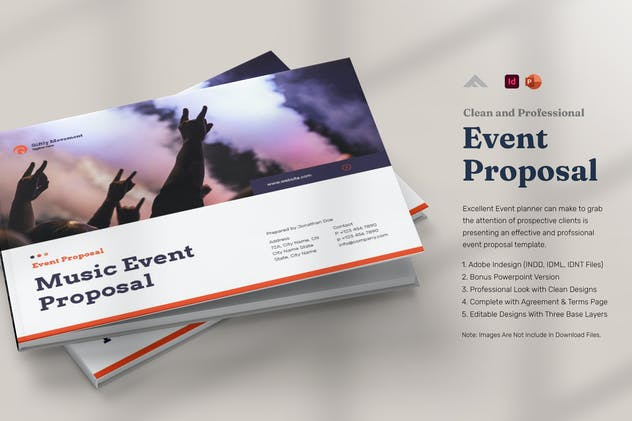 Music Event Sponsorship Proposal Template