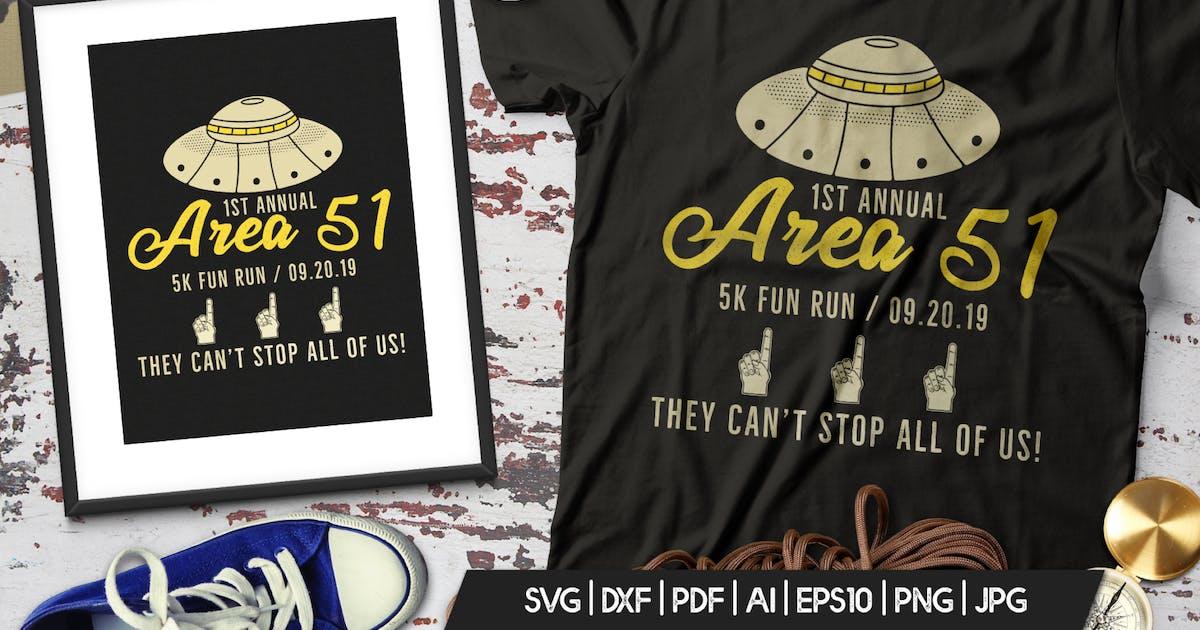 Download Storm Area 51 Funny Print T-Shirt, UFO Aliens Logo by JeksonJS