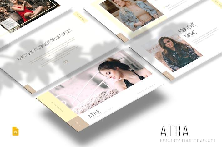 Thumbnail for Atra - Google Slides Template