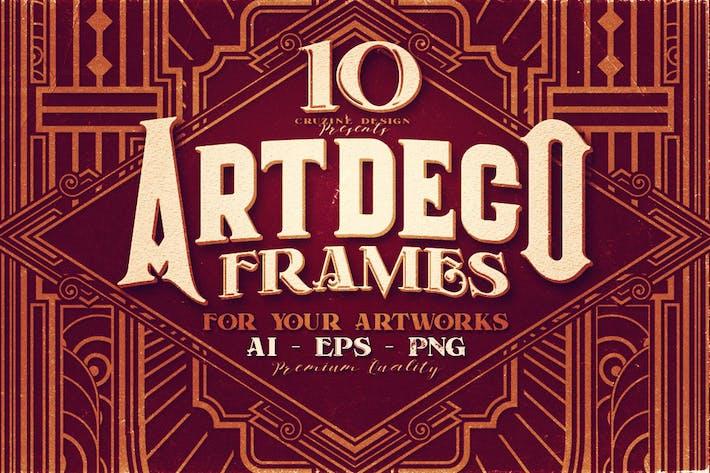 Thumbnail for 10 Artdeco Frames