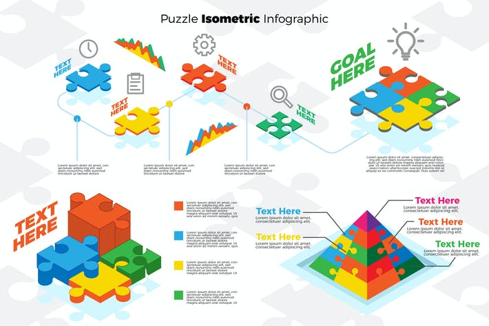 Thumbnail for Puzzle Piece Infographic