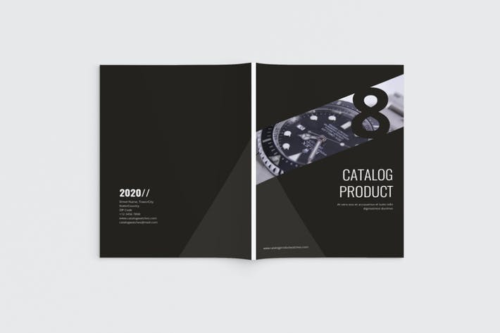 clock Catalog Brochure