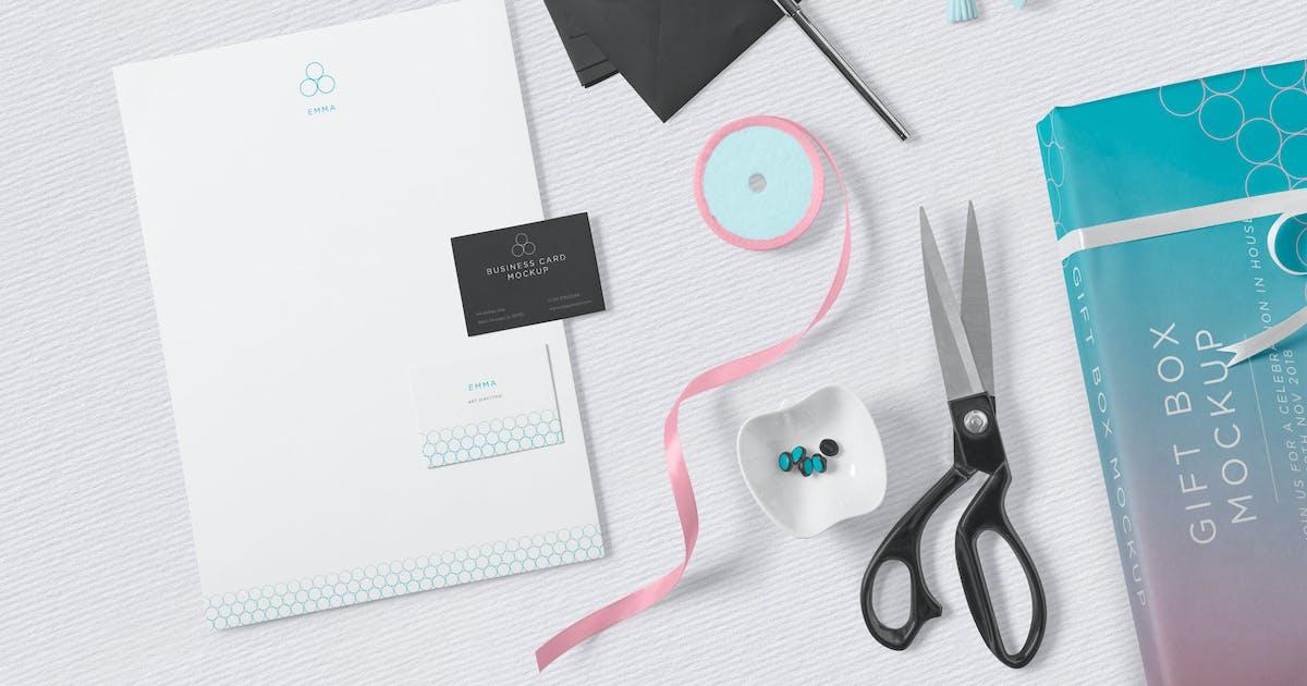 Download Premium Invitation Mockups by zippypixels