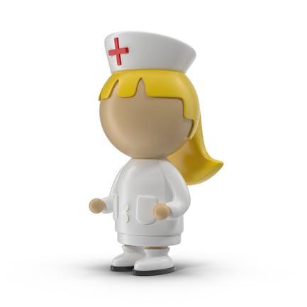 Cartoon Female Nurse
