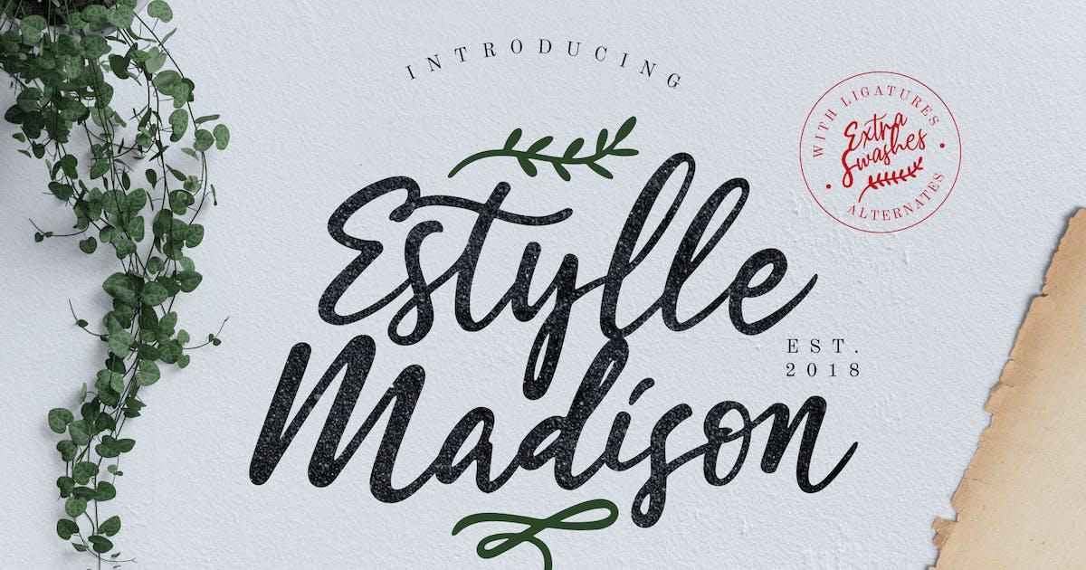 Download Estylle Madison Calligraphy by RahardiCreative