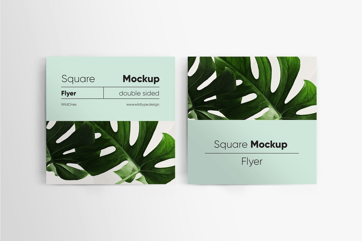 Thumbnail for Square Flyer Mockup