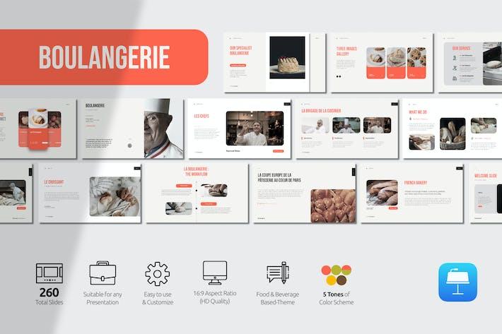 Thumbnail for Boulangerie Presentation Keynote