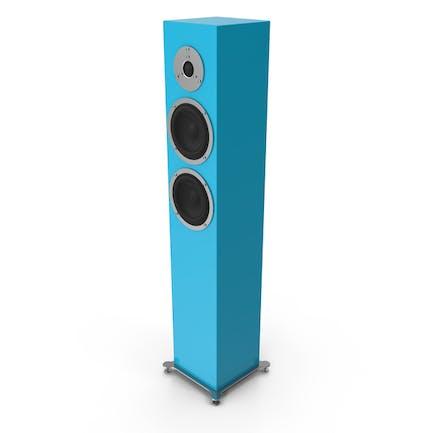 Cyan Floor Speaker