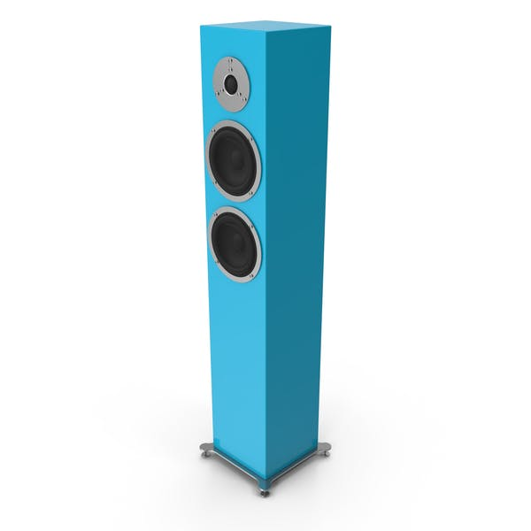 Thumbnail for Cyan Floor Speaker