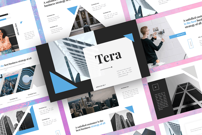 Thumbnail for Tera - Business Google Slides Template