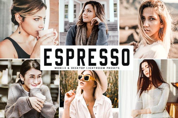 Thumbnail for Espresso Mobile & Desktop Lightroom Presets
