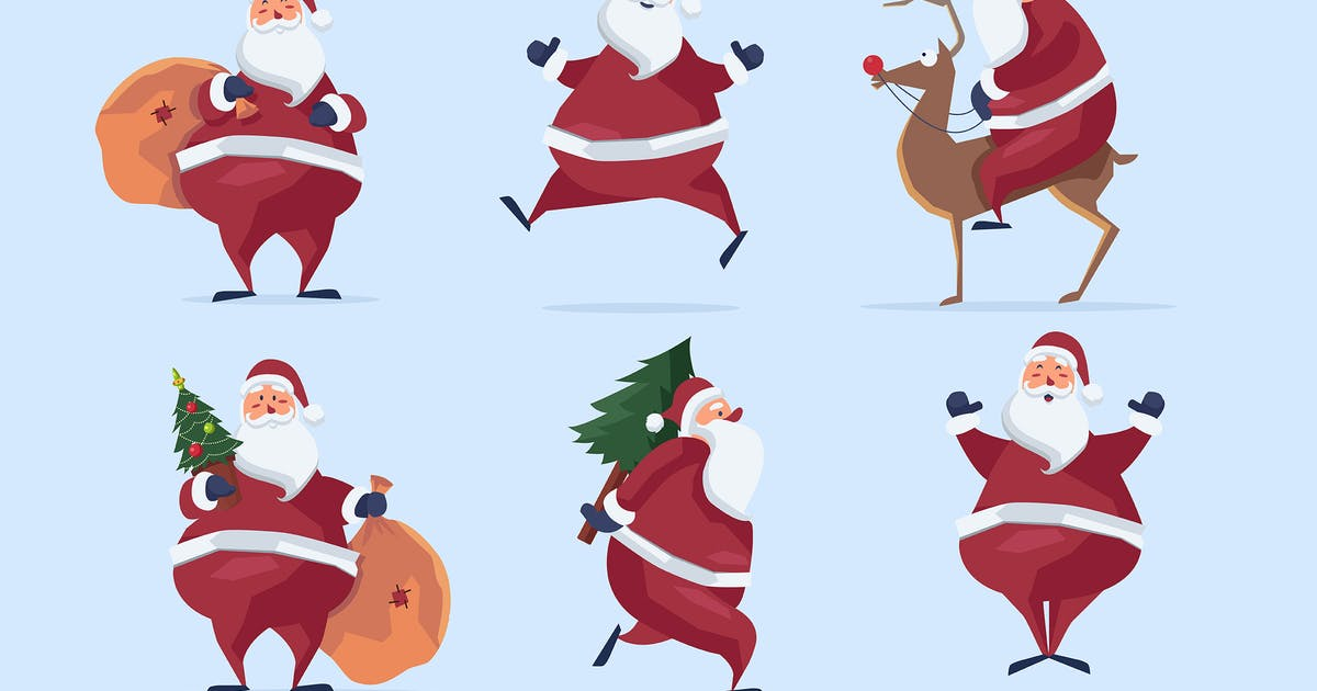 Download Busy Santa Clipart by Jumsoft