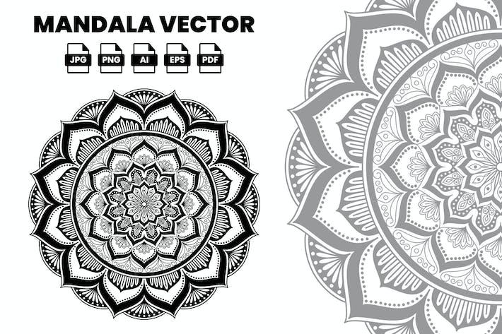 Thumbnail for Illustration Vecteur mandala