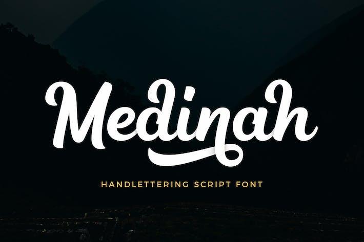 Thumbnail for Fuente de escritura Medinah