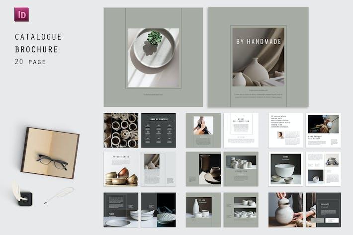 Handmade Square Catalog Magazine