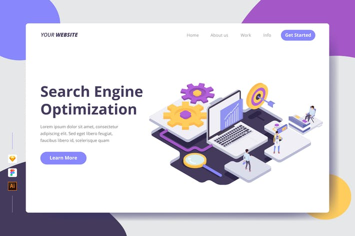 Thumbnail for Search Engine Optimization - Landing Page