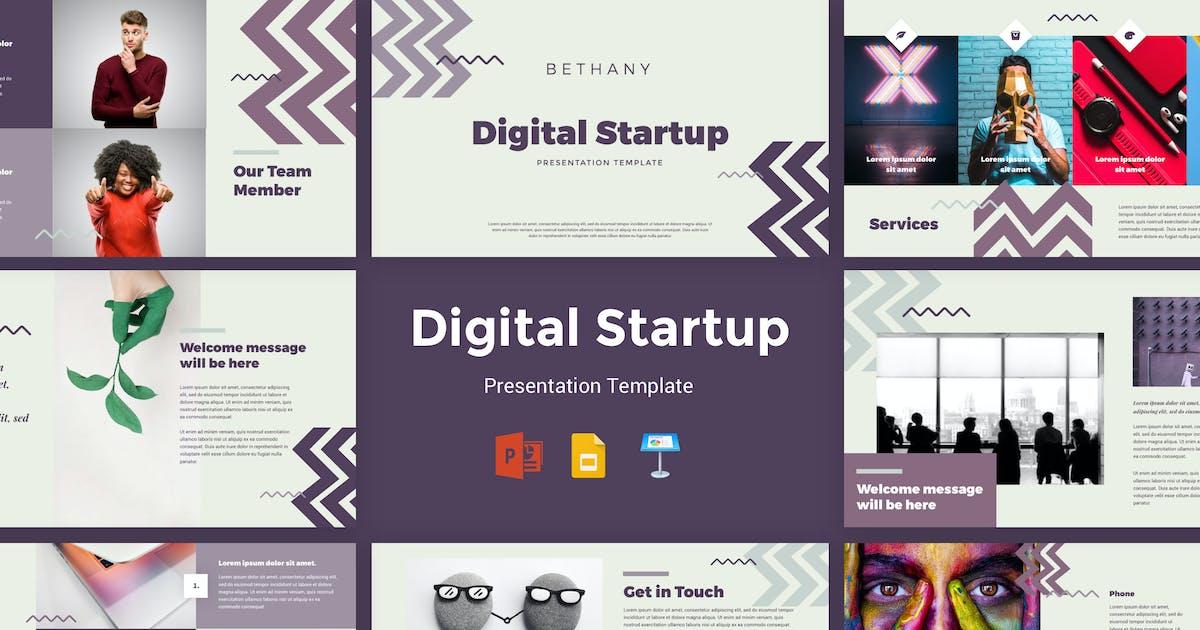 Download Bethany - Digital Startup Presentation Template by deTheme