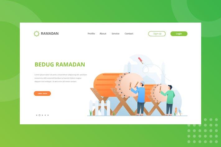 Thumbnail for Bedug Ramadan Landing Page