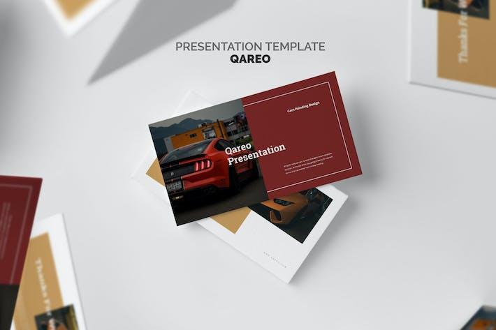 Thumbnail for Qareo : Car Google Slides